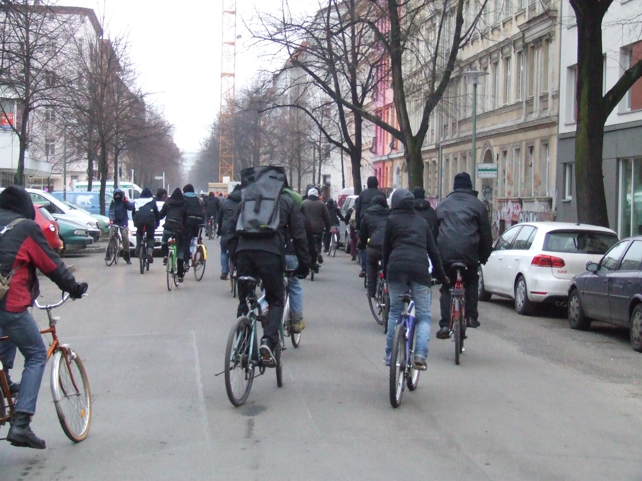 Fahrraddemo 01.02 2
