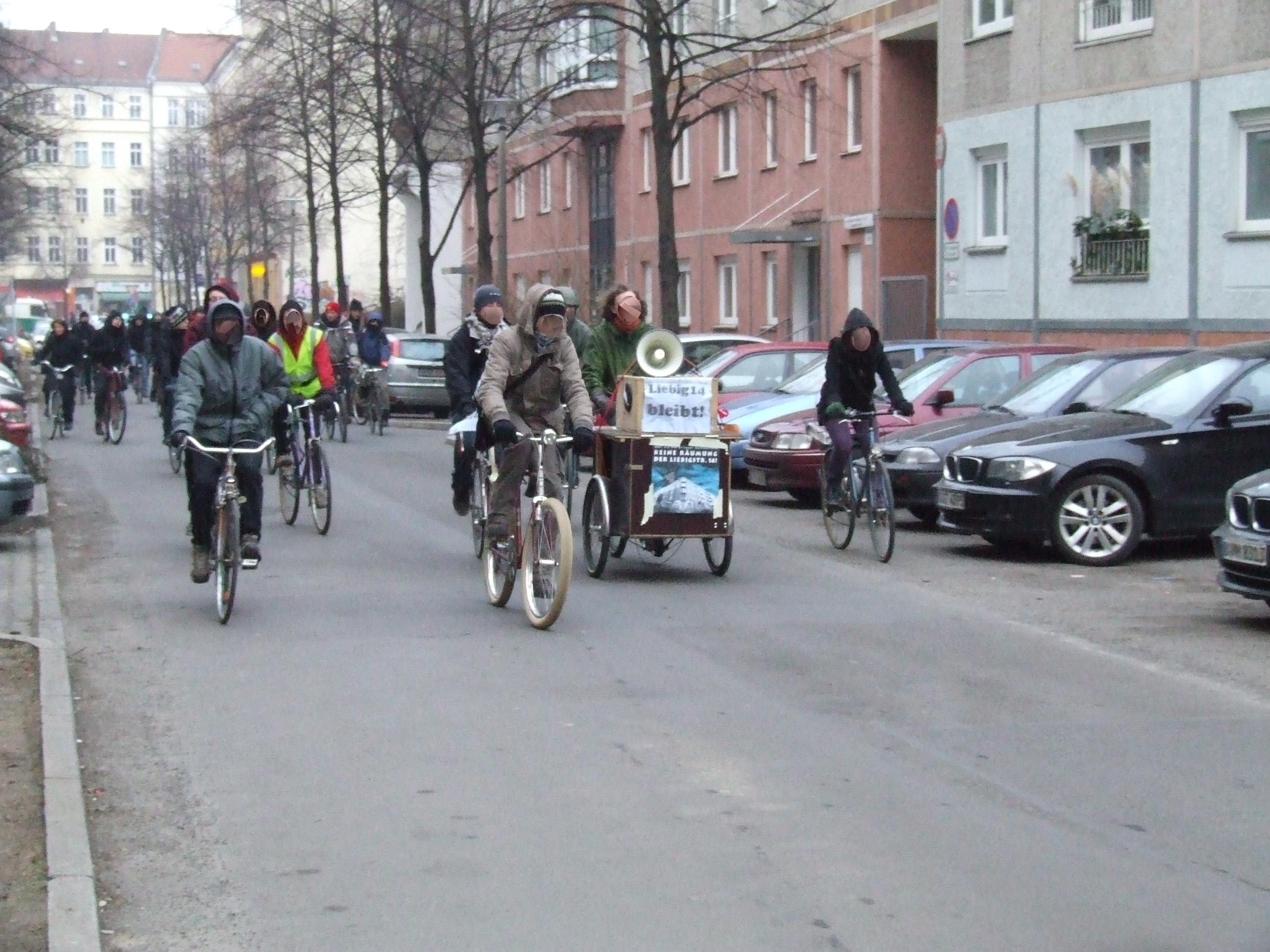 Fahrraddemo 01.02 1